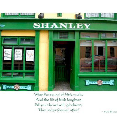 Shanley Pub St. Patrick's Day card