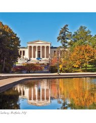 BF-104 - Albright Knox Art Gallery in Fall