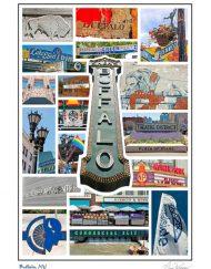 BL-126 Buffalo Signage Card