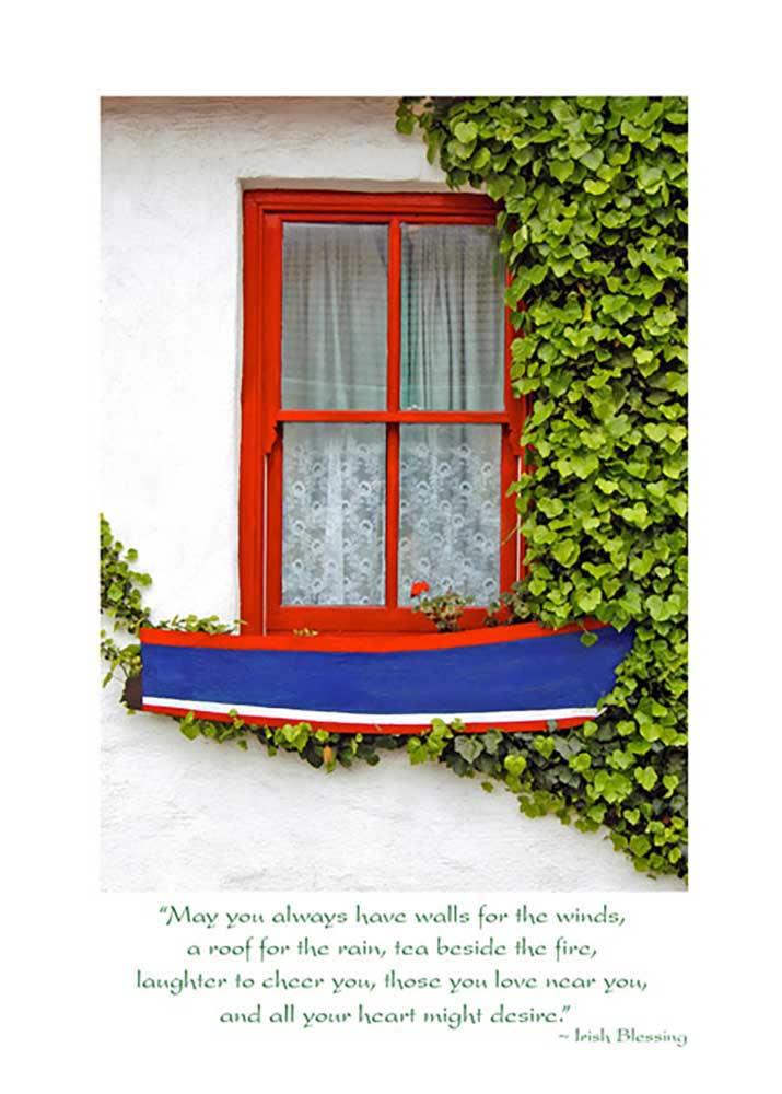 Irish Window Birthday Card The Irish Card Shop Features 140 Irish