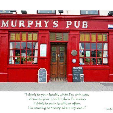 Murphy's Pub Birthday Card