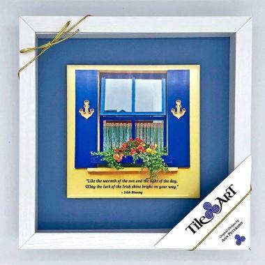 Anchor window framed tile
