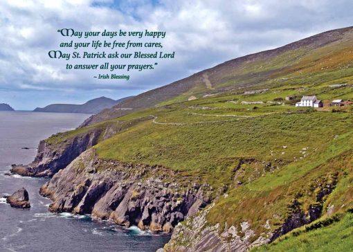 Irish language Birthday card