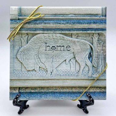 Buffalo-home-shamrock-Triv-Art