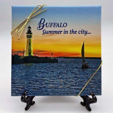 Buffalo Lighthouse Triv Art
