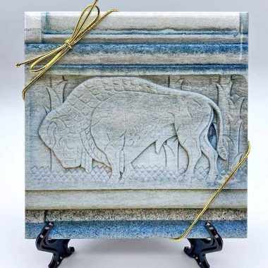 Buffalo Stone Triv Art