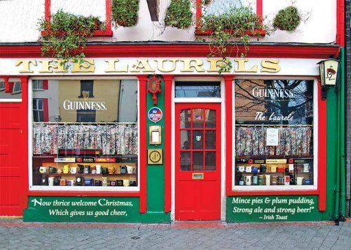 The Laurels Pub Christmas Card