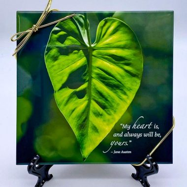 Heart is yours tile