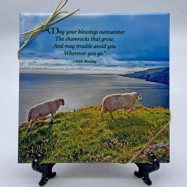 Coastal Irish sheep tile