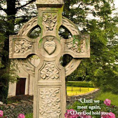 Celtic cross Irish Sympathy