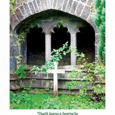 Irish Headstone Sympathy card