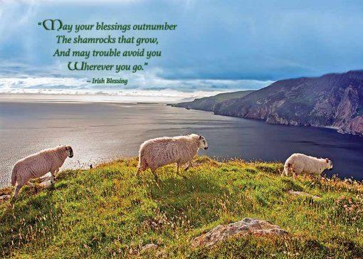 Irish landscape St. Patricks
