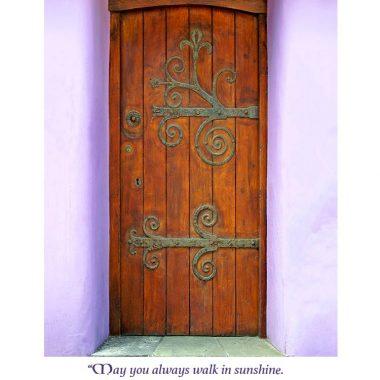 beside your door birthday