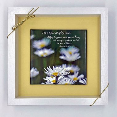 Daisies mothers day tile