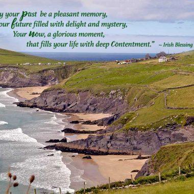 Irish landscape retirement card