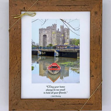 May your home castle framed